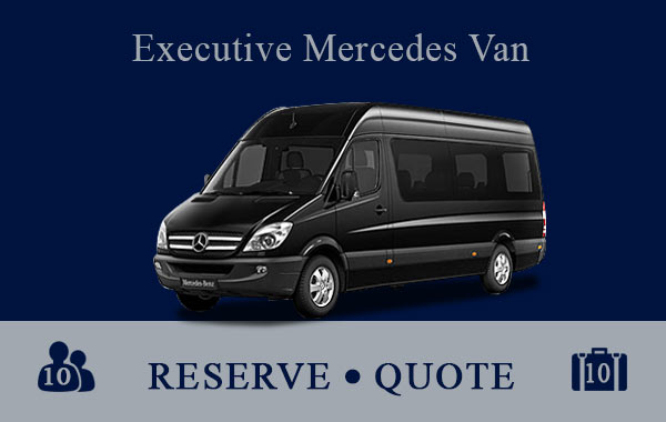 Executive Mercedes Van